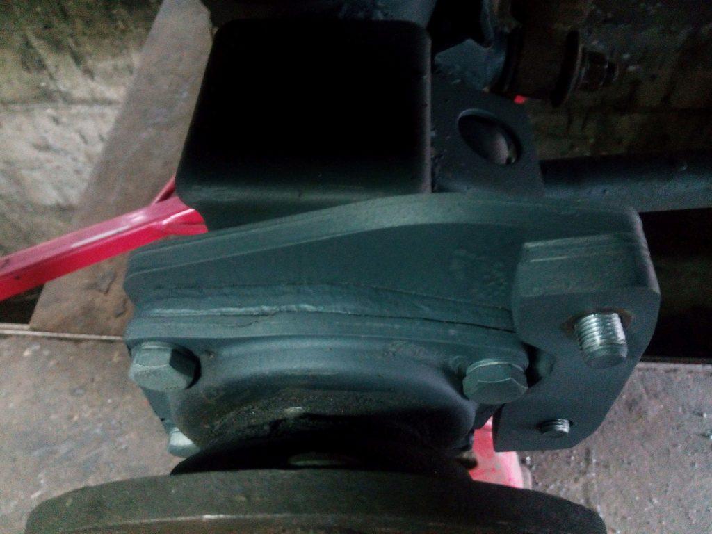 daihatsu rocky disc brake